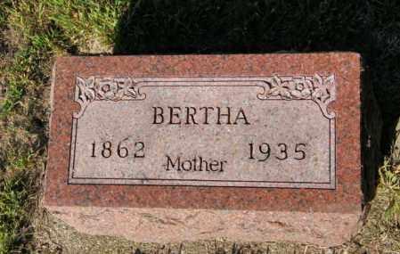 BIRKLAND, BERTHA - Lincoln County, South Dakota   BERTHA BIRKLAND - South Dakota Gravestone Photos