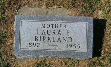 BIRKLAND, LAURA E - Lincoln County, South Dakota | LAURA E BIRKLAND - South Dakota Gravestone Photos