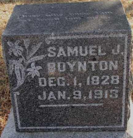 BOYNTON, SAMUEL J. - Lincoln County, South Dakota | SAMUEL J. BOYNTON - South Dakota Gravestone Photos