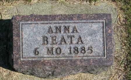 BRANDSGARD, ANNA BEATA - Lincoln County, South Dakota   ANNA BEATA BRANDSGARD - South Dakota Gravestone Photos