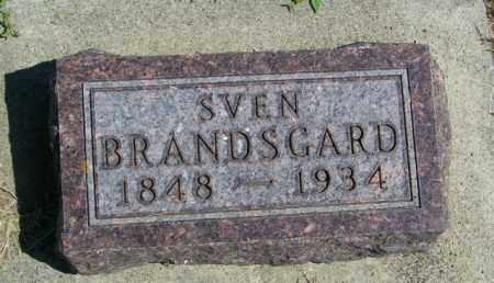 BRANDSGARD, SVEN - Lincoln County, South Dakota | SVEN BRANDSGARD - South Dakota Gravestone Photos