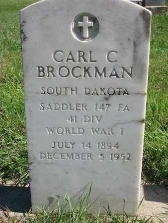 BROCKMAN, CARL C. - Lincoln County, South Dakota   CARL C. BROCKMAN - South Dakota Gravestone Photos