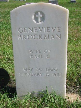 BROCKMAN, GENEVIEVE - Lincoln County, South Dakota   GENEVIEVE BROCKMAN - South Dakota Gravestone Photos