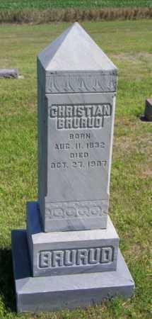 BRURUD, CHRISTIAN - Lincoln County, South Dakota | CHRISTIAN BRURUD - South Dakota Gravestone Photos