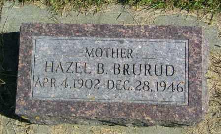 BRURUD, HAZEL B - Lincoln County, South Dakota   HAZEL B BRURUD - South Dakota Gravestone Photos