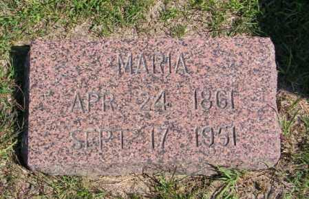 BRURUD, MARIA - Lincoln County, South Dakota | MARIA BRURUD - South Dakota Gravestone Photos