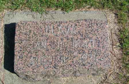 BRURUD, OLAVA - Lincoln County, South Dakota | OLAVA BRURUD - South Dakota Gravestone Photos