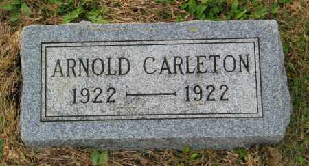 CARLETON, ARNOLD - Lincoln County, South Dakota | ARNOLD CARLETON - South Dakota Gravestone Photos