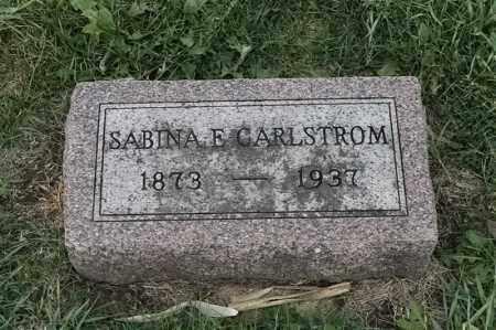 CARLSTROM, SABINA E - Lincoln County, South Dakota | SABINA E CARLSTROM - South Dakota Gravestone Photos
