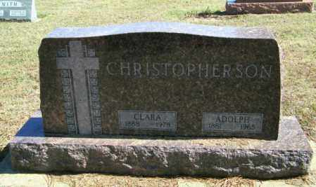 CHRISTOPHERSON, CLARA - Lincoln County, South Dakota | CLARA CHRISTOPHERSON - South Dakota Gravestone Photos