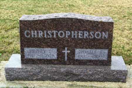 CHRISTOPHERSON, NORMA E - Lincoln County, South Dakota | NORMA E CHRISTOPHERSON - South Dakota Gravestone Photos