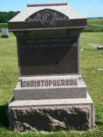 CHRISTOPHERSON, INGER - Lincoln County, South Dakota | INGER CHRISTOPHERSON - South Dakota Gravestone Photos