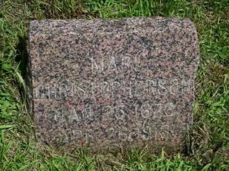 CHRISTOPHERSON, MARI - Lincoln County, South Dakota | MARI CHRISTOPHERSON - South Dakota Gravestone Photos