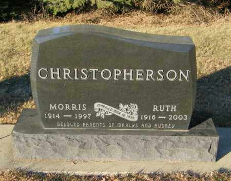 CHRISTOPHERSON, MORRIS - Lincoln County, South Dakota | MORRIS CHRISTOPHERSON - South Dakota Gravestone Photos