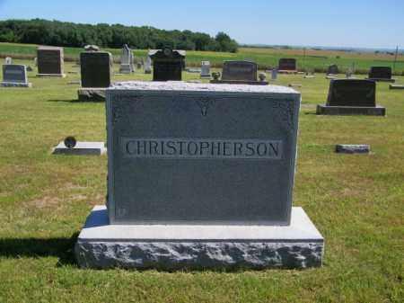 CHRISTOPHERSON PLOT, ALBERT - Lincoln County, South Dakota | ALBERT CHRISTOPHERSON PLOT - South Dakota Gravestone Photos