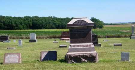 CHRISTOPHERSON PLOT, HANS - Lincoln County, South Dakota   HANS CHRISTOPHERSON PLOT - South Dakota Gravestone Photos