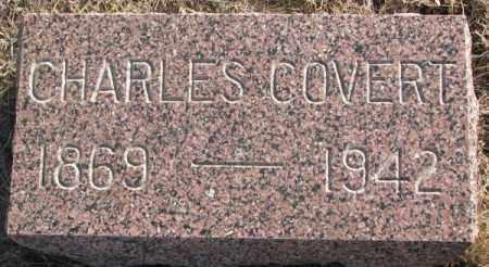 COVERT, CHARLES - Lincoln County, South Dakota   CHARLES COVERT - South Dakota Gravestone Photos
