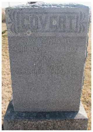 COVERT, MARY A. - Lincoln County, South Dakota   MARY A. COVERT - South Dakota Gravestone Photos