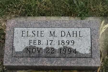 DAHL, ELSIE M - Lincoln County, South Dakota | ELSIE M DAHL - South Dakota Gravestone Photos
