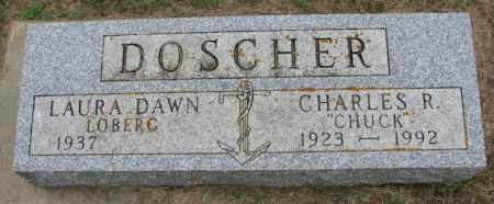 "DOSCHER, CHARLES R. ""CHUCK"" - Lincoln County, South Dakota | CHARLES R. ""CHUCK"" DOSCHER - South Dakota Gravestone Photos"