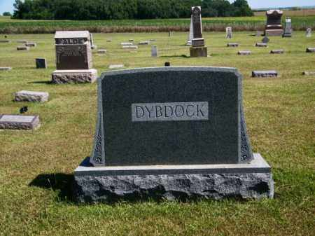 DYBDOCK MONUMENT, GINA - Lincoln County, South Dakota | GINA DYBDOCK MONUMENT - South Dakota Gravestone Photos