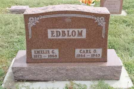 EDBLOM, EMELIE G - Lincoln County, South Dakota | EMELIE G EDBLOM - South Dakota Gravestone Photos