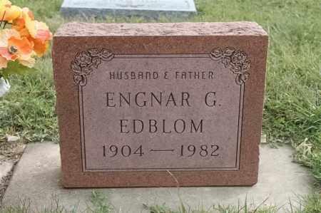 EDBLOM, ENGNAR G - Lincoln County, South Dakota | ENGNAR G EDBLOM - South Dakota Gravestone Photos