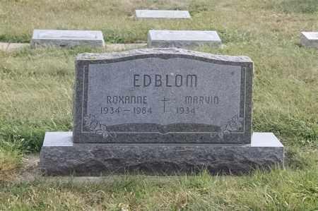 EDBLOM, MARVIN - Lincoln County, South Dakota | MARVIN EDBLOM - South Dakota Gravestone Photos