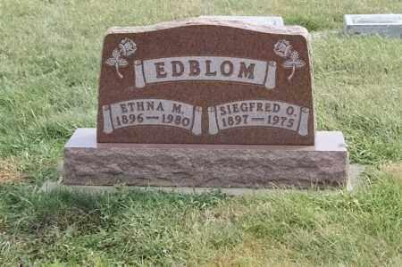 EDBLOM, ETHNA M - Lincoln County, South Dakota | ETHNA M EDBLOM - South Dakota Gravestone Photos