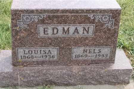 EDMAN, NELS - Lincoln County, South Dakota   NELS EDMAN - South Dakota Gravestone Photos