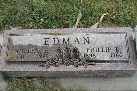 EDMAN, ADELYN E - Lincoln County, South Dakota | ADELYN E EDMAN - South Dakota Gravestone Photos