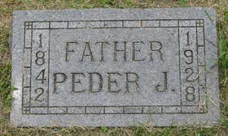 EGGE, PEDER J. - Lincoln County, South Dakota | PEDER J. EGGE - South Dakota Gravestone Photos