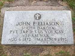 ELIASON, JOHN P. - Lincoln County, South Dakota | JOHN P. ELIASON - South Dakota Gravestone Photos