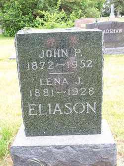 ELIASON, JOHN P. - Lincoln County, South Dakota   JOHN P. ELIASON - South Dakota Gravestone Photos