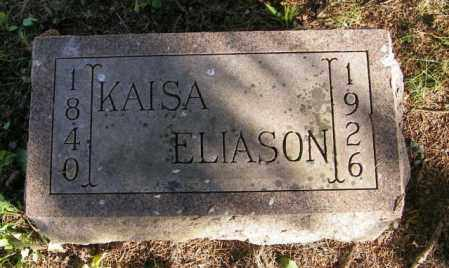 ELIASON, KAISA - Lincoln County, South Dakota | KAISA ELIASON - South Dakota Gravestone Photos