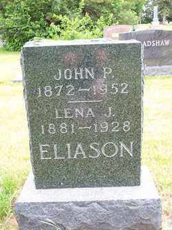 ELIASON, LENA J. - Lincoln County, South Dakota | LENA J. ELIASON - South Dakota Gravestone Photos