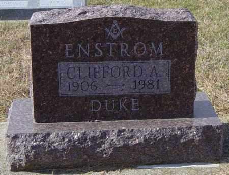 "ENSTROM, CLIFFORD A  ""DUKE"" - Lincoln County, South Dakota | CLIFFORD A  ""DUKE"" ENSTROM - South Dakota Gravestone Photos"