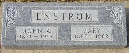 ENSTROM, MARY - Lincoln County, South Dakota | MARY ENSTROM - South Dakota Gravestone Photos
