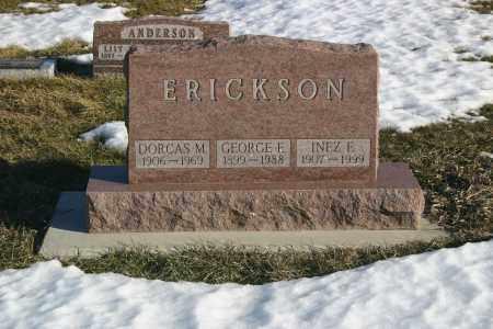 LARSON ERICKSON, INEZ - Lincoln County, South Dakota   INEZ LARSON ERICKSON - South Dakota Gravestone Photos
