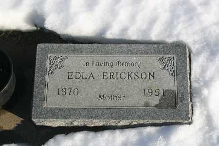 CARLSON ERICKSON, EDLA - Lincoln County, South Dakota | EDLA CARLSON ERICKSON - South Dakota Gravestone Photos