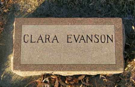 EVANSON, CLAREA - Lincoln County, South Dakota | CLAREA EVANSON - South Dakota Gravestone Photos