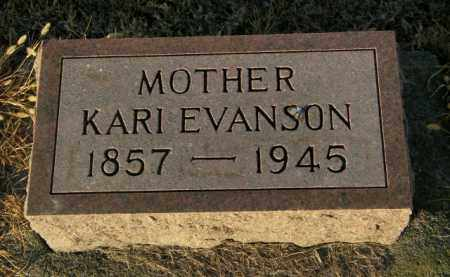 EVANSON, KARI - Lincoln County, South Dakota | KARI EVANSON - South Dakota Gravestone Photos