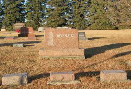 EVANSON PLOT, JOHN - Lincoln County, South Dakota | JOHN EVANSON PLOT - South Dakota Gravestone Photos