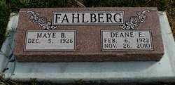 FAHLBERG, DEANE - Lincoln County, South Dakota | DEANE FAHLBERG - South Dakota Gravestone Photos