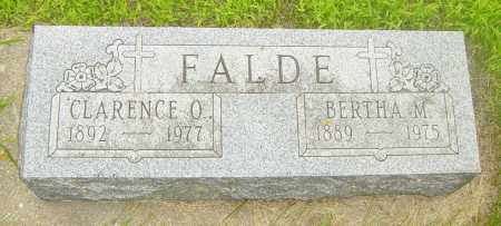 FALDE, BERTHA M - Lincoln County, South Dakota | BERTHA M FALDE - South Dakota Gravestone Photos