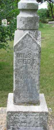 FEDT, NILS H. - Lincoln County, South Dakota | NILS H. FEDT - South Dakota Gravestone Photos