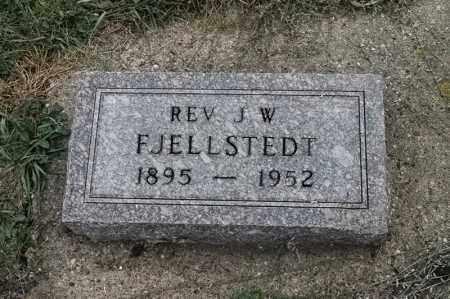 FJELLSTEDT, REV J W - Lincoln County, South Dakota | REV J W FJELLSTEDT - South Dakota Gravestone Photos