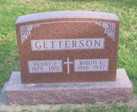 GETTERSON, BIRGIT E. - Lincoln County, South Dakota | BIRGIT E. GETTERSON - South Dakota Gravestone Photos