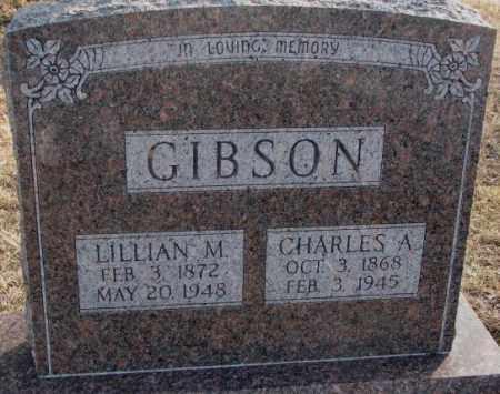 GIBSON, LILLIAN M. - Lincoln County, South Dakota | LILLIAN M. GIBSON - South Dakota Gravestone Photos