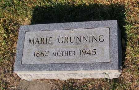 GRUNNING, MARIE - Lincoln County, South Dakota | MARIE GRUNNING - South Dakota Gravestone Photos